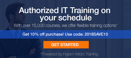 Designed to meet industry demands for IT professionals, CTComp offers powerful technology training, in partnership with Ingram Micro Training, to meet all of your certification and service needs. Contact CTComp for training curriculums today!